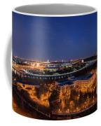 Moscow Night Panorama Coffee Mug
