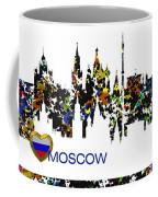 Moscow Skylines Coffee Mug