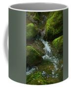 Mose On Rocks  Coffee Mug