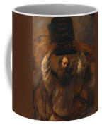 Moses With The Ten Commandments Coffee Mug