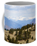 Mosquito Range Mountains From Bald Mountain Colorado Coffee Mug