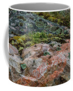 Moss And Lichen Abstract Coffee Mug