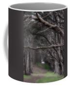 Moss Beach Trees 4191 Coffee Mug
