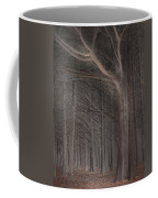 Moss Beach Trees Coffee Mug