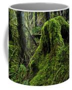 Moss Covered Tree Stump Coffee Mug