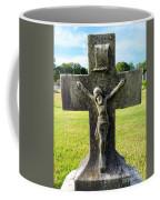 Moss On Cross Coffee Mug