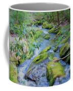 Mossy Blue Brook Coffee Mug