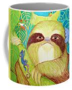 Mossy Sloth Coffee Mug