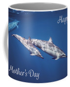 Mother And Child Mother's Card Coffee Mug by Denise Bird