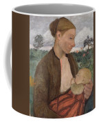 Mother And Child Coffee Mug by Paula Modersohn Becker