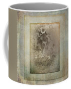 Mother And Child Reunion Vintage Frame Coffee Mug