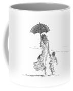 Mother And Child  Sri Lanka Coffee Mug