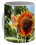 Mother And Daughter Sunflowers Coffee Mug