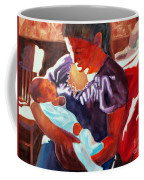 Mother And Newborn Child Coffee Mug by Kathy Braud