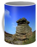 Mother Cap Gritstone Rock Formation, Millstone Edge Coffee Mug