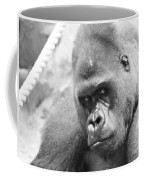 Mother Gorilla In Thought Coffee Mug