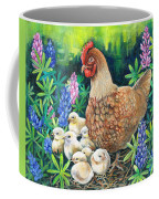 Mother Love. Coffee Mug by Val Stokes