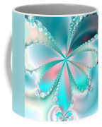 Mother Of Pearl Butterfly Coffee Mug