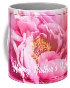 Mother's Day Peony Coffee Mug