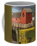 Motif 1 At Christmas, Rockport, Ma Coffee Mug