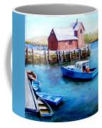 Motif One Rockport Harbor Coffee Mug by Jack Skinner
