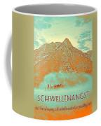 Motivational Travel Poster - Schwellenangst 2 Coffee Mug