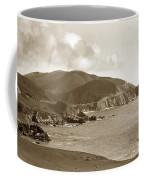 Notleys Landing Big Sur Coast Circa 1933 Coffee Mug