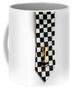 Motor Sport Racing Tie And Trophy Coffee Mug