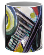 Motorcycle Abstract Engine 1 Coffee Mug