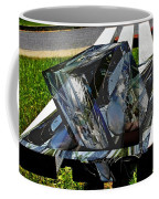 Motorcycle And Park Bench As Art Coffee Mug