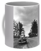 Motorist Parked By Roadside Coffee Mug