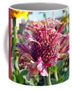 Mottled Pink Cone Flower Coffee Mug