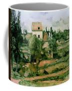 Moulin De La Couleuvre At Pontoise Coffee Mug by Paul Cezanne