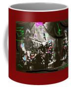 Moulin Rouge Homage Diamond Tooth Gerties Chorus Line Dawson City Yukon Territory Canada 1977-2008 Coffee Mug