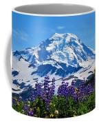 Mount Baker Wildflowers Coffee Mug