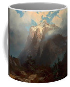 Mount Brewer From King's River Canyon - California Coffee Mug