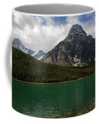 Mount Chephren From Waterfowl Lake - Banff National Park Coffee Mug