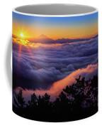 Mount Constitution Sunrise Coffee Mug