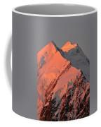 Mount Cook Range On South Island In New Zealand Coffee Mug