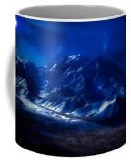 Mount Denali Moonlight Alaska Coffee Mug
