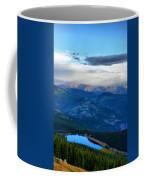 Mount Evans Painterly 2  Coffee Mug