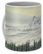 Mount Hood Evening Coffee Mug