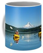 Mount Hood Kayakers Coffee Mug