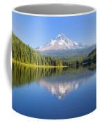 Mount Hood On A Sunny Day Coffee Mug