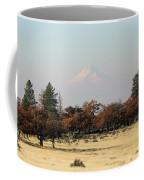 Mount Hood Over The Flats Coffee Mug