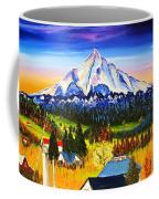Mount Hood River Valley #1. Coffee Mug