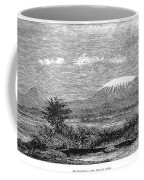Mount Kilimanjaro, 1884 Coffee Mug