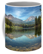 Mount Lassen From Manzanita Lake Coffee Mug