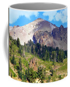 Mount Lassen Volcano Coffee Mug