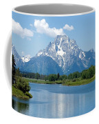 Mount Moran At Oxbow Bend Coffee Mug